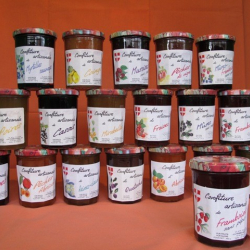 confiture mures